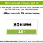 Bono para llamadas internacionales de clientes de prepago de Hits Mobile