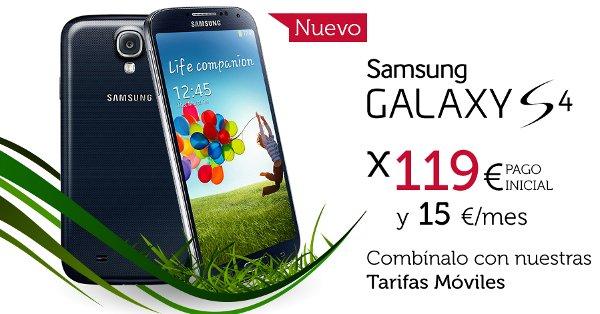 Samsung Galaxy S4 con Oceans