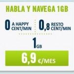 Las tarifas Habla y Navega de Happy Móvil incluyen llamadas gratis entre clientes de este OMV