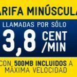 500 MB de internet móvil gratis para siempre con la Tarifa Minúscula de MÁSmovil