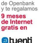 1 giga de datos gratis durante 9 meses con Tuenti Móvil y OpenBank