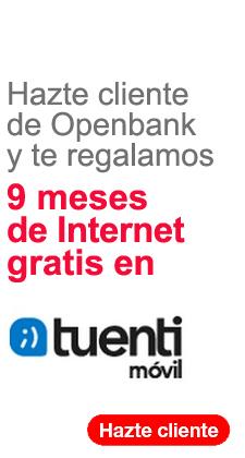 Tuenti Móvil gratis con Open Bank