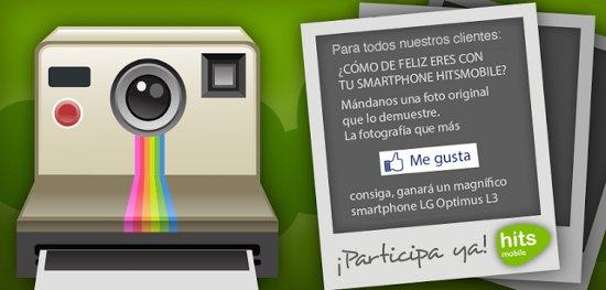 HitsMobile Smartphone gratis con sorteo en Facebook