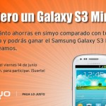 Sorteo Samsung Galaxy S3 mini con Simyo