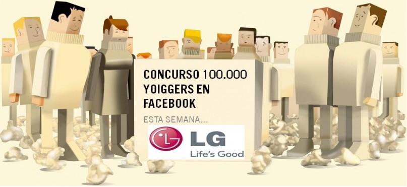 Concurso 10000 Yoiggers en Facebook