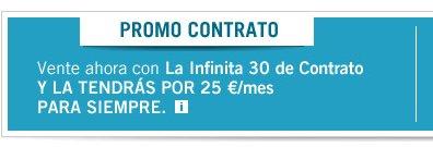 Promoción de contrato de Yoigo agosto 2013