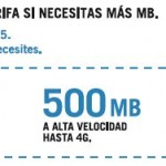 Nuevo bono 5 adicional de internet de Yoigo