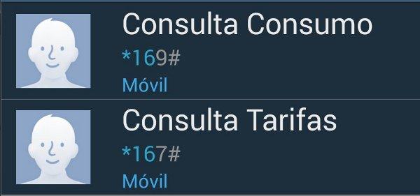 Consumos en Jazztel Móvil