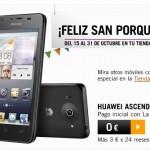 Huawei Ascend G510 negro con precio especial con Yoigo