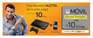 Con Jazztel Móvil compra tu videoconsola y págala a plazos