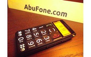 Yoigo y Simyo traen AbuFone, un teléfono para los mayores