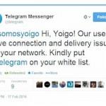 Telegram le pide a Yoigo que lo desbloquee