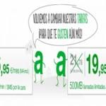 Amena mejora su producto y reduce precios