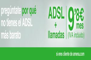ADSL + llamadas en Amena ilimitadas