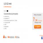 Llegó el  LG G2 mini en Simyo