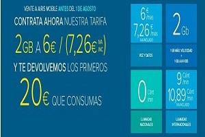 Airis Mobile  lanza su promoción de verano