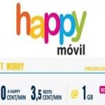 Happy Móvil presenta una mejora en su tarifa
