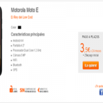 Llegó el Motorola Moto E en Simyo