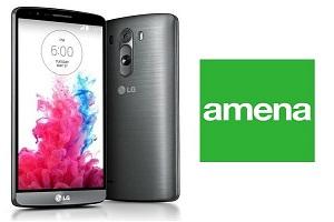 Amena ofrece el precio más barato del smartphone LG G3