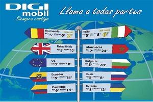 DIGI mobil incuye nuevos destinos en sus tarifas internacionales