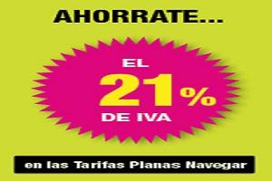 Contrata tu Tarifa Plana Navegar con Hits Mobile, y no pagues el IVA