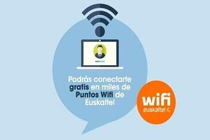 Euskaltel se une a las redes wifi para la descarga de redes móviles