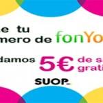 Suop regala 5 euros a los clientes de la actual operadora FonYou