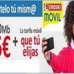 Eroski Móvil ofrece la tarifa convergente más barata del mercado