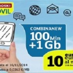 Eroski Móvil vuelve con su tarifa de 100 minutos y 1 GB