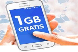 Telecable regala 1GB todos los meses durante un año