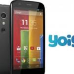 Yoigo ofrece el Motorola Moto G a solo 75 euros