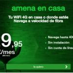 Amena ofrece a sus clientes la posibilidad de navegar en casa a velocidad de fibra pero sin instalación alguna