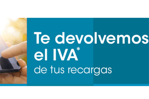 Eroski Móvil recarga saldos devolviendo el IVA