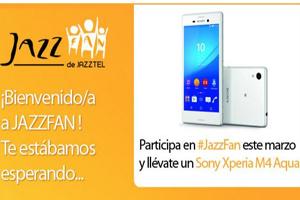 Arranca el Jazzfan de Jazztel de marzo ofreciendo premios exclusivos