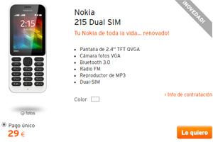 La Simyo oferta del día: El Nokia de toda la vida ¡renovado!