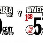 Pepephone permite hablar y navegar a velocidad 4G por menos de 6 euros al mes