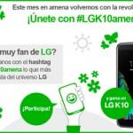 Con Amena puedes un ganar un smartphone LG haciendo lo que más disfrutas