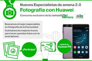 Amena premia a los especialistas en fotografía con smartphone con un equipo de última generación