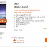 Equipos de rebaja en Simyo: ZTE Blade A452 a sólo 115 euros