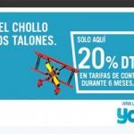 Cámbiate a Yoigo con SIM gratis y 20% de descuento en tu tarifa mensual
