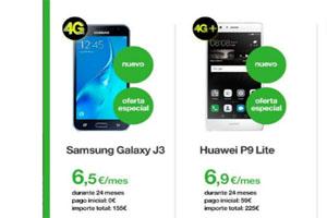 Hazte de un fantástico nuevo móvil en Amena pagando menos de 7 euros al mes