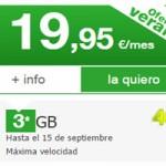 Amena te da 3 GB para navegar en tu tarifa de 19,95 euros por tiempo limitado