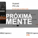 Simyo anuncia una de las grandes noticias del mes: la llegada del Huawei P9 Lite