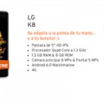 Lunes de estreno en Simyo: LG K8