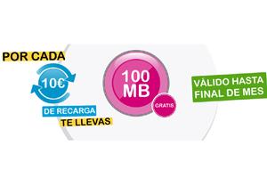 Última oportunidad para ganar 100 MB por cada recarga de 10 euros en Suop Móvil