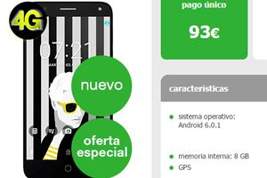 Estreno con remate: Amena lanza el Alcatel Pop 4 por menos de 4 euros al mes