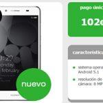 Ofertaza de lunes en Amena: Huawei Y5 II