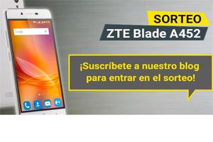 Únete este mes al blog oficial Más Móvil y gana un ZTE Blade A452