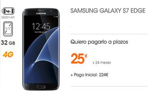 El Samsung Galaxy Edge S7 llega a Euskaltel a 25 euros al mes