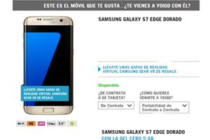 Maravíllate en Yoigo con el Samsung Galaxy S7 Edge al mejor precio